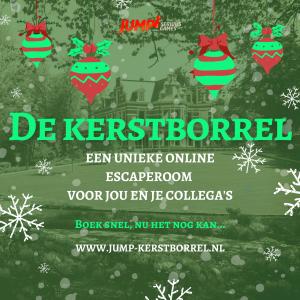 Kerstborrel online escaperoom
