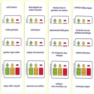 Vaardighedenspel kaarten Gerrickens