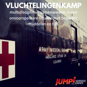 Vluchtelingenkamp serious game