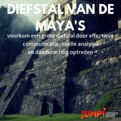 Diefstal van de Maya's serious game
